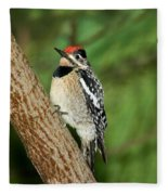Yellow-bellied Sapsucker Fleece Blanket