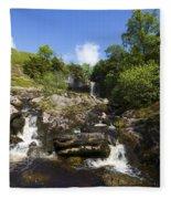 Yorkshire Dales Waterfall Fleece Blanket