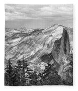 Yosemite Bw Fleece Blanket