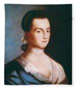 Abigail Adams (1744-1818) Fleece Blanket