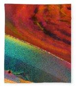 Agate Microworlds 1 Fleece Blanket
