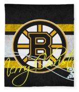 Boston Bruins Fleece Blanket