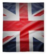 British Flag 17 Fleece Blanket
