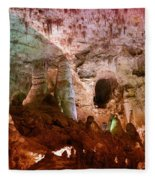 Carlsbad Cavern Fleece Blanket