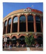 Citi Field - New York Mets 3 Fleece Blanket