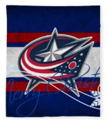 Columbus Blue Jackets Fleece Blanket