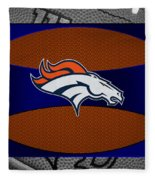 Denver Broncos Fleece Blanket