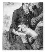 Edward Jenner (1749-1823) Fleece Blanket