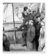 Edward Vii (1841-1910) Fleece Blanket