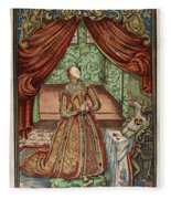 Elizabeth I (1533-1603) Fleece Blanket