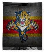 Florida Panthers Fleece Blanket