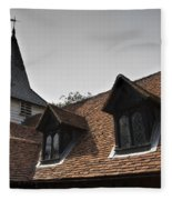 Greensted Church Fleece Blanket