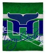 Hartford Whalers Fleece Blanket