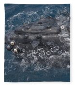 Humpback Whales Fleece Blanket