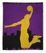 Los Angeles Lakers Fleece Blanket