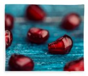 Pomegranate Fleece Blanket