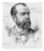 Robert Koch (1843-1910) Fleece Blanket