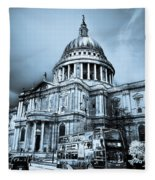 St Paul's Cathedral London Art Fleece Blanket