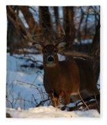 Stag Fleece Blanket