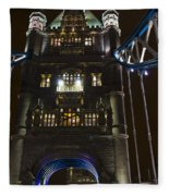 Tower Bridge Fleece Blanket
