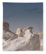 White Desert Fleece Blanket