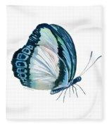 101 Perched Danis Danis Butterfly Fleece Blanket