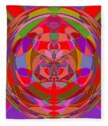 1015 Abstract Thought Fleece Blanket