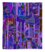 1022 Abstract Thought Fleece Blanket