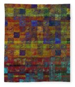 1030 Abstract Thought Fleece Blanket