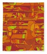 1045 Abstract Thought Fleece Blanket