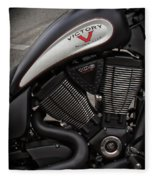 106ci V-twin Fleece Blanket
