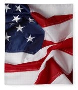 American Flag 34 Fleece Blanket