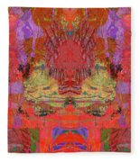 1074 Abstract Thought Fleece Blanket