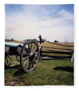 10th Mass Battery - Gettysburg Fleece Blanket