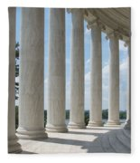 Thomas Jefferson Memorial Fleece Blanket