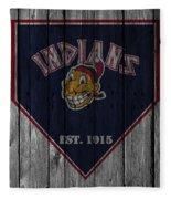 Cleveland Indians Fleece Blanket