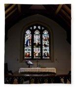 Greensted Church Fleece Blanket