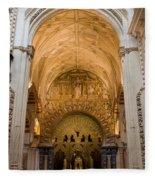 Mezquita Cathedral Interior In Cordoba Fleece Blanket
