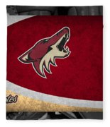 Phoenix Coyotes Fleece Blanket