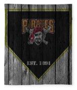 Pittsburgh Pirates Fleece Blanket