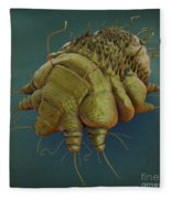 Scabies Mite Fleece Blanket