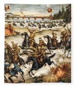 Siberian Intervention, 1919 Fleece Blanket
