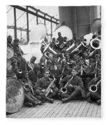 Wwi Homecoming, 1919 Fleece Blanket