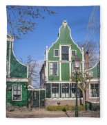 Zaanse Schans Fleece Blanket