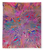 1106 Abstract Thought Fleece Blanket