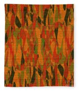 1114 Abstract Thought Fleece Blanket