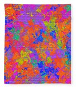 1115 Abstract Thought Fleece Blanket
