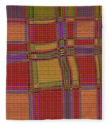 1137 Abstract Thought Fleece Blanket