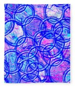 1166 Abstract Thought Fleece Blanket