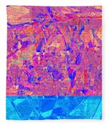 1182 Abstract Thought Fleece Blanket